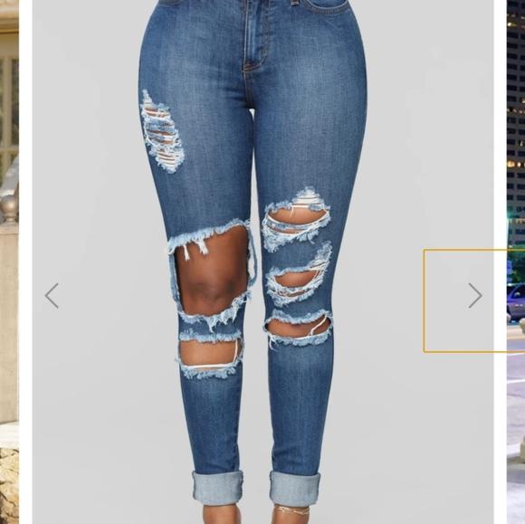 Beach bum jeans - medium blue